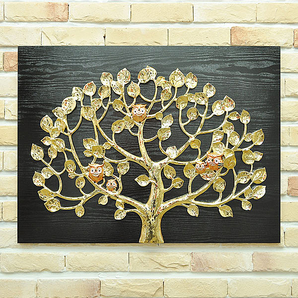 BnH국산정품 돈나무 부엉이 액자 그림액자 1119_6GD(택배불가)